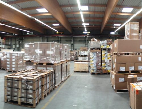 Visit to our warehouses in Hamburg